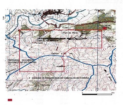 mapa serra