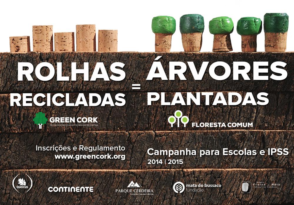 Green Cork campanha de recolha rolhas 2014 15