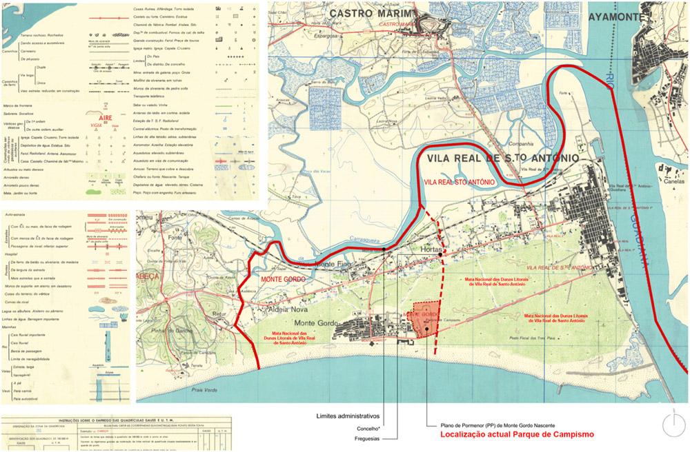 mapa dunas vrsa