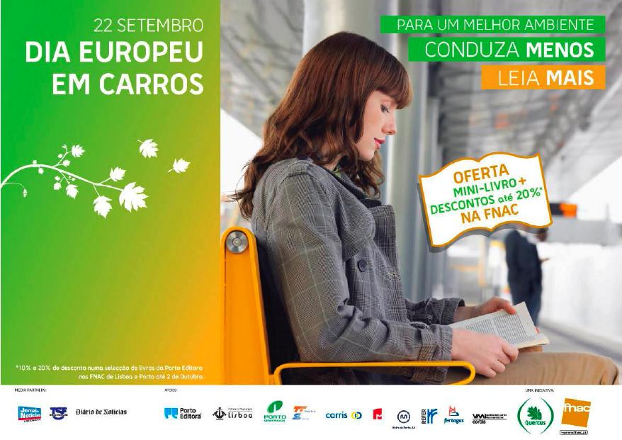 dia europeu sem carros quercus fnac