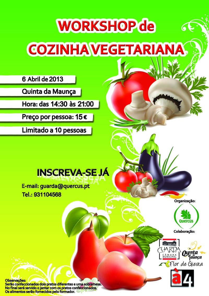 4workshop vegetariano