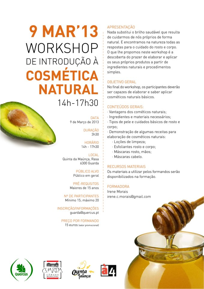 workshop cosmetica nat