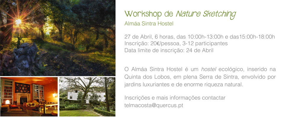 Workshops Natural Sketching Almaa